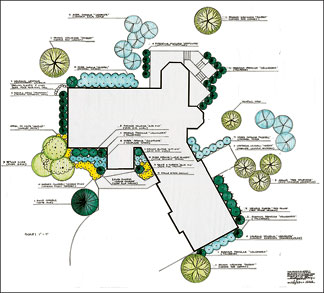 Landscape plans sample landscape design for Sample landscape plan