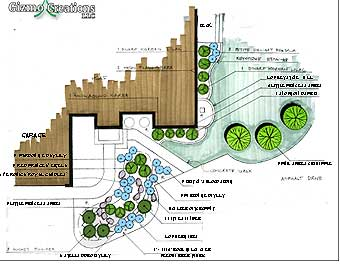 Home Design Photo Gallery on Landscape Plans   Sample Landscape Design