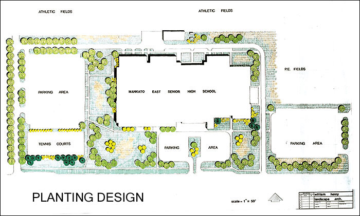 Landscape sample plan gizmo creations for Sample landscape plan